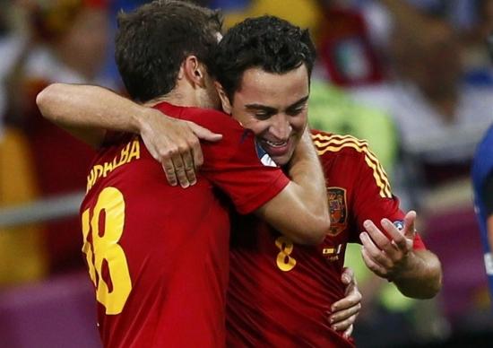 Dani Alves'ten Xavi ve Iniesta'ya...