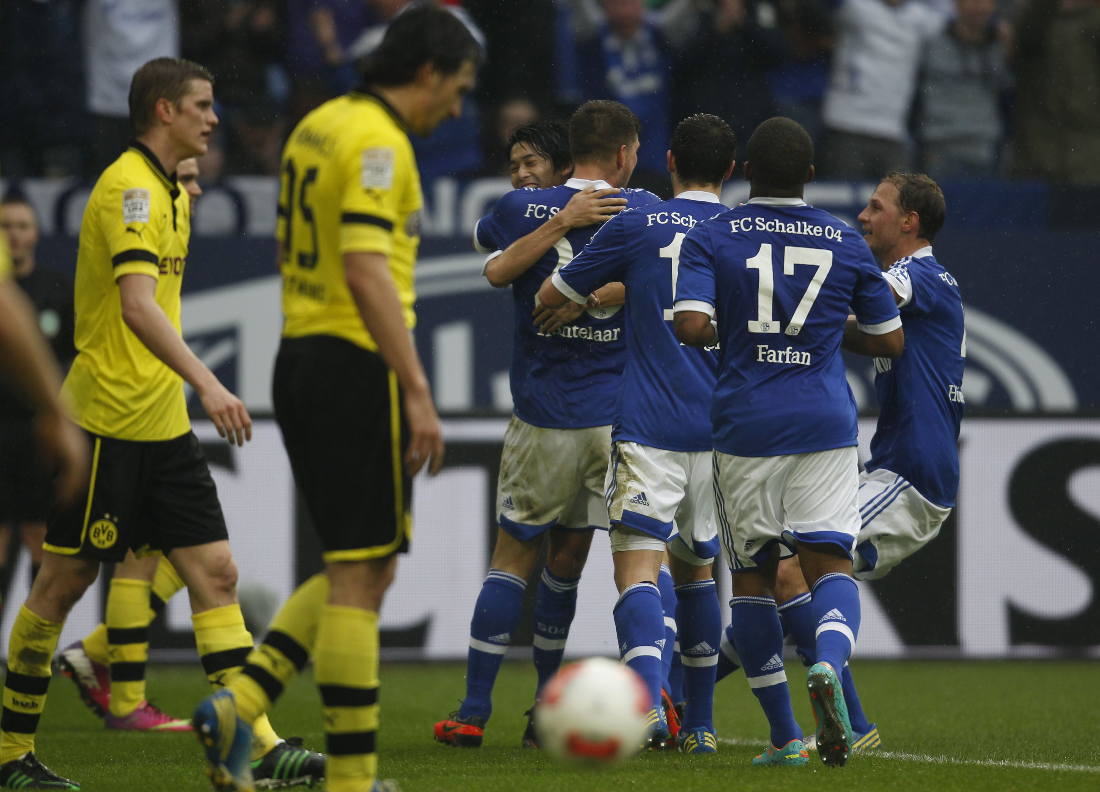 Ruhr Derbisinde Schalke Fark U0131 Almanya Ligi