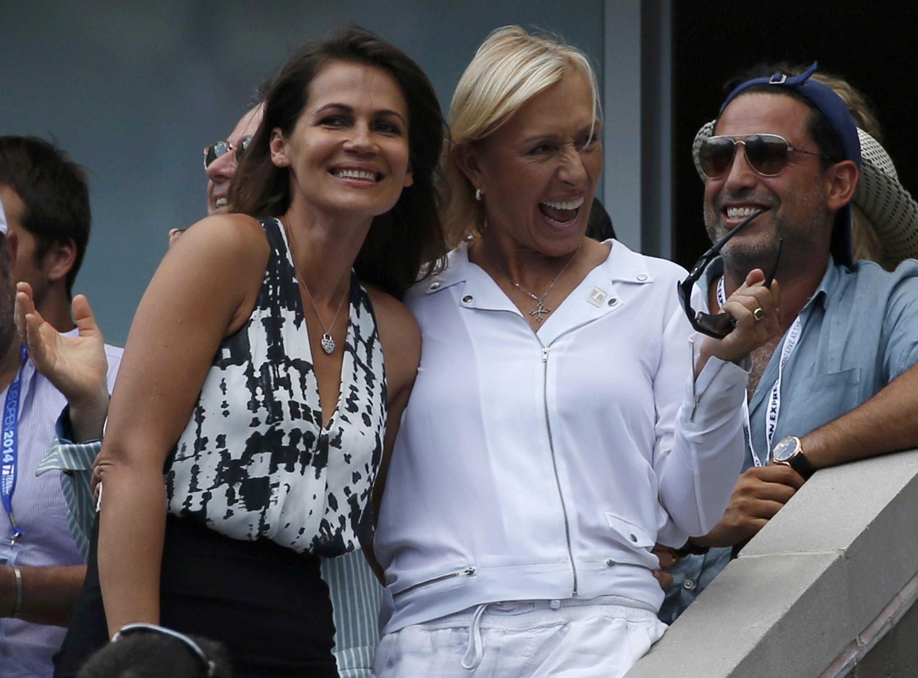 Amerika Açıkta evlenme teklifi! Navratilova - ABD Açık
