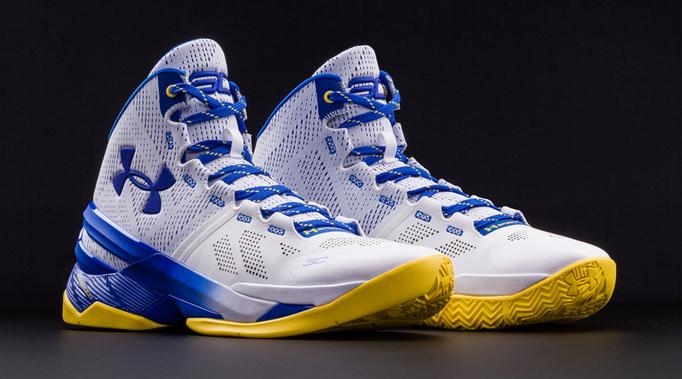 Ua Curry Two Elite Boys Basketball Shoe