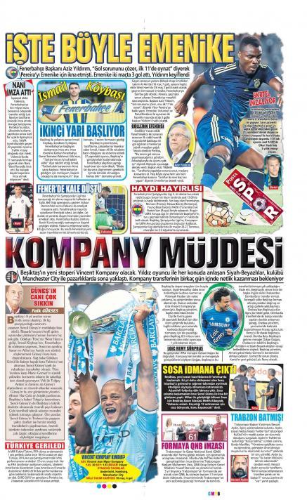 Gazete manşetleri (15 Temmuz)