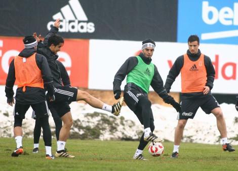 Beşiktaş antrenman (17 Ocak Salı)