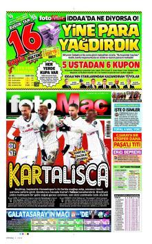 Beşiktaş Gazete Manşet (17 Ocak)