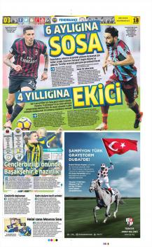 Fenerbahçe Gazete Manşet