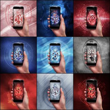 Telefonlara özel 2017 model duvar kağıtları