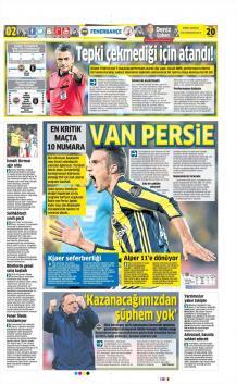Fenerbahçe gazete manşetleri - 20 Ocak