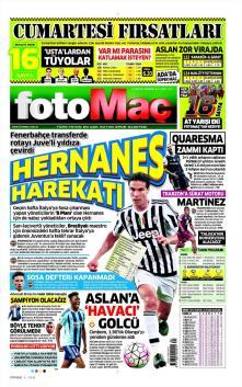 Fenerbahçe gazete manşetleri - 21 Ocak