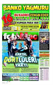 Gazete manşetleri - 24 Ocak