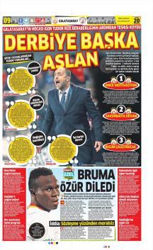 Galatasaray Gazete Manşet (20 Şubat)