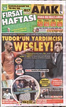 Galatasaray Gazete Manşet (21 Şubat)