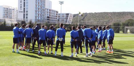 Fenerbahçe antrenman (23 Şubat Perşembe)