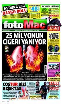 Fenerbahçe Gazete Manşet (23 Şubat)