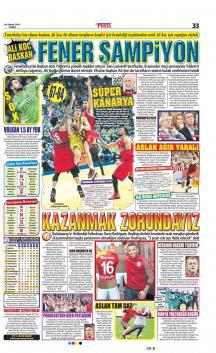 Gazete manşetleri (24 Şubat 2017)