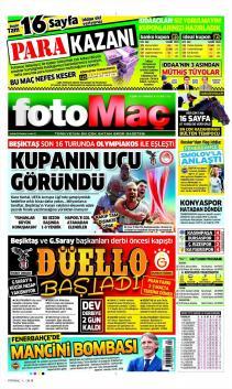 Gazete manşetleri - 25 Şubat