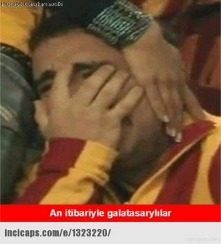 Galatasaray maçı capsleri (Beşiktaş)