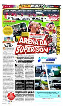 Beşiktaş gazete manşetleri - 28 Şubat