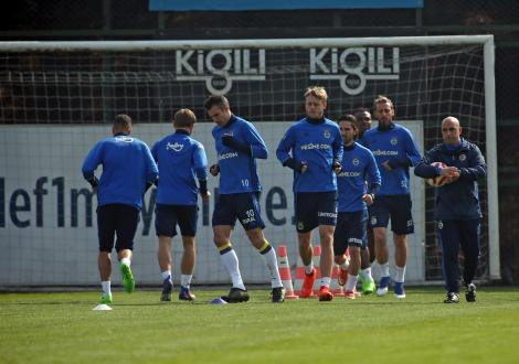 Fenerbahçe antrenman - 28 Şubat