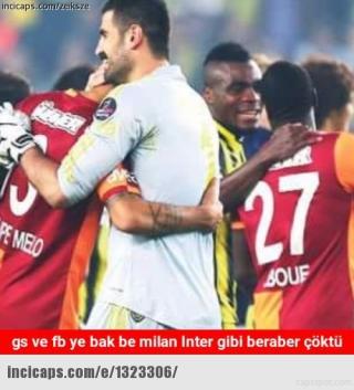 Galatasaray - Beşiktaş capsleri