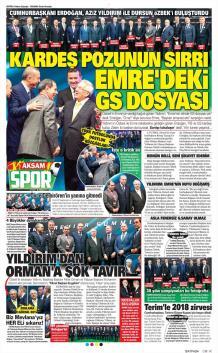 Galatasaray gazete manşetleri - 21 Mart