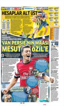 Fenerbahçe Gazete Manşet (23 Mart)