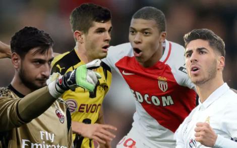 Avrupa'nın en yetenekli 20 futbolcusu