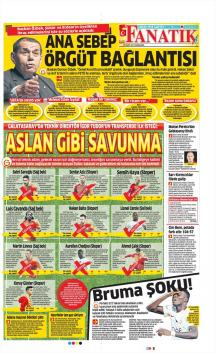 Galatasaray Gazete Manşet (29 Mart)