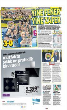 Fenerbahçe gazete manşetleri - 28 Nisan