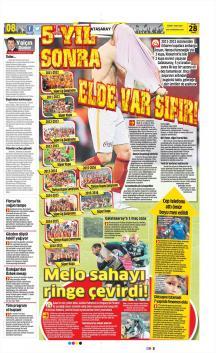 Gazete manşetleri - 28 Nisan