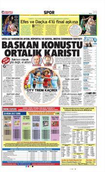 Trabzonspor gazete manşetleri - 28 Nisan