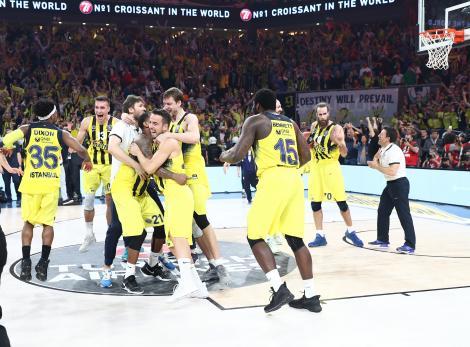 Fenerbahçe, Euroleague şampiyonu! Kare kare tarihi anlar