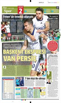 Fenerbahçe Gazete Manşet (23 Mayıs)