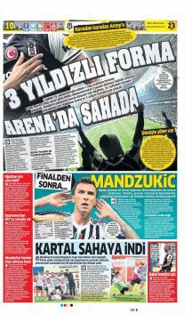 Gazete Manşetleri (23 Mayıs)