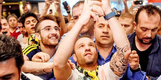 Fenerbahçe'nin yeni transferi Valbuena: