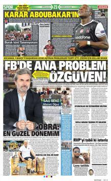 Fenerbahçe Gazete Manşet (19 Haziran)