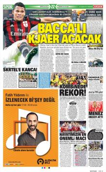 Gazete manşetleri - 22 HAZİRAN
