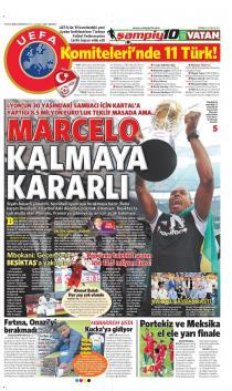Gazete manşetleri - 25 HAZİRAN