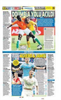 Gazete manşetleri - 26 HAZİRAN