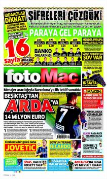 Gazete manşetleri - 27 HAZİRAN
