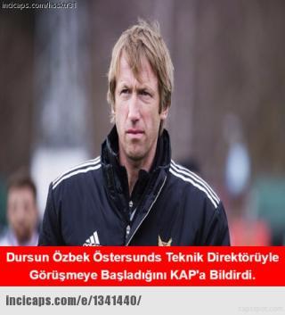 Galatasaray-Östersunds maçı caps'leri