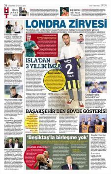 Gazete manşetleri - 22 Temmuz