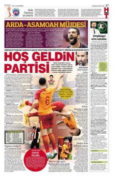 Gazete Manşetleri (15 Ağustos)