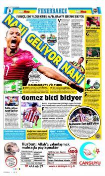 Gazete manşetleri - 16 Ağustos