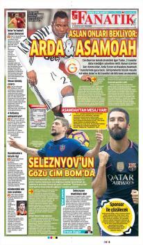 Galatasaray Gazete Manşet (17 Ağustos)