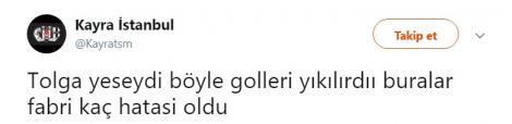 Beşiktaş'ta eleştiri okları Fabri'ye yöneldi!