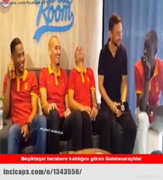 Kasımpaşa-Beşiktaş maçı sonrası caps'ler