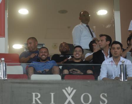Samir Nasri, Antalyaspor - Akhisar maçını izledi!