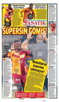 Galatasaray Gazete Manşet (21 Ağustos)