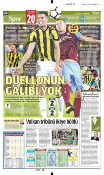 Gazete Manşetleri (21 Ağustos)