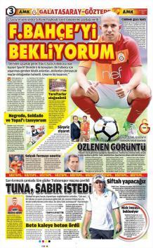 Gazete Manşetleri (22 Ağustos)