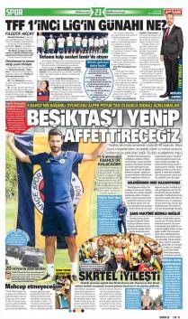Fenerbahçe Gazete Manşet (21 Eylül)